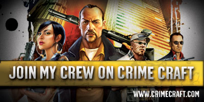 Join my crew on CrimeCraft!